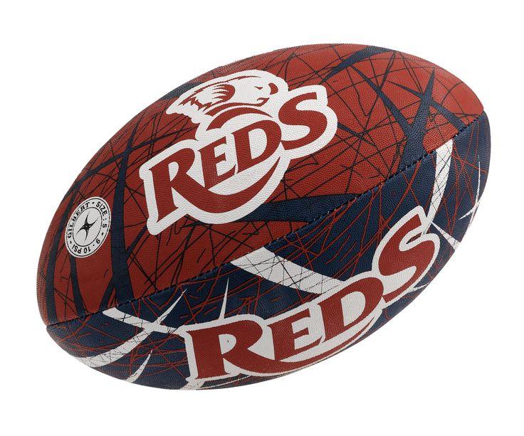 Queensland Reds Gilbert Rugby Ball