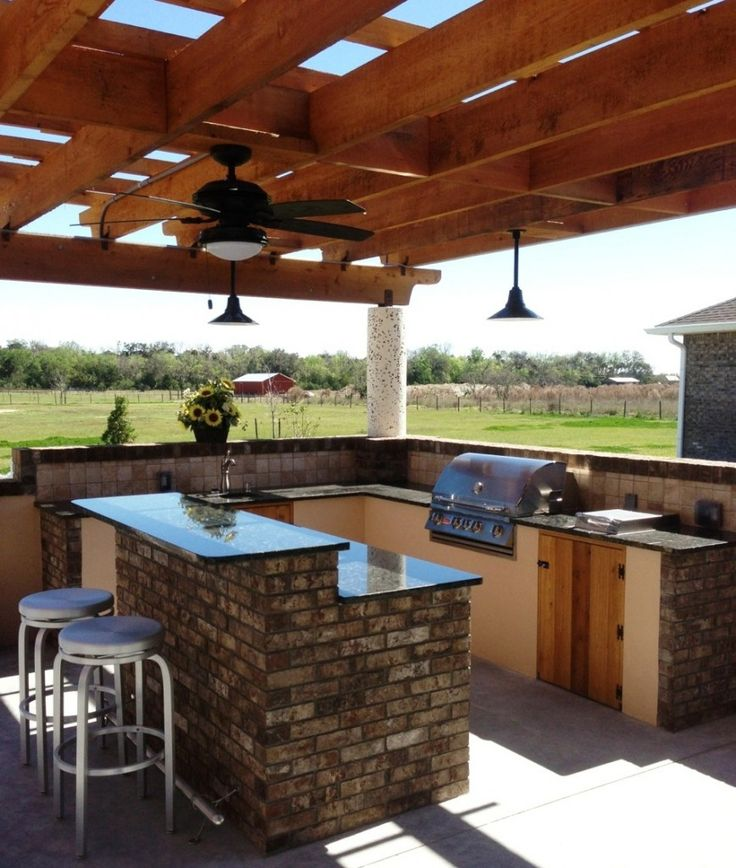 25 Best Images About OUTDOOR KITCHEN W/ Big Green Egg On