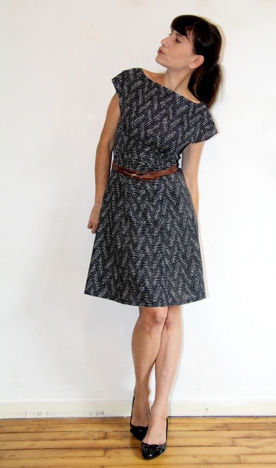 Graphic Anna by Jolies bobines | Project | Sewing / Dresses | Kollabora #diy #kollabora #sewing #dress