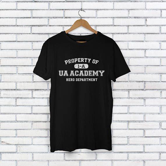 e206745e09983 Boku no Hero Academia Inspired Shirt - UA Yuuei Academy Shirt - My Hero  Anime Manga - BNHA Anime Shi