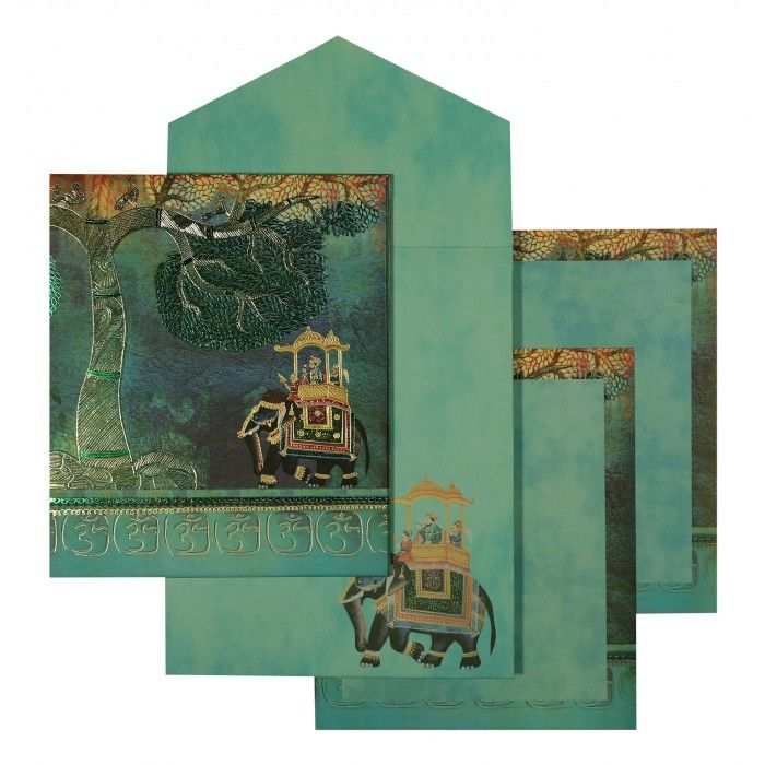 Indian Wedding Invitations IN 1572 123WeddingCards