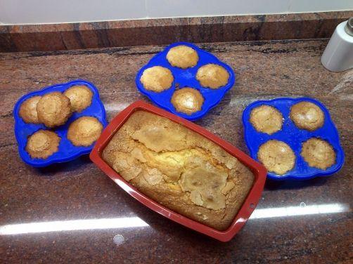 Coca y magdalenas de naranja, nueces y pasas para #Mycook http://www.mycook.es/receta/coca-y-magdalenas-de-naranja-nueces-y-pasas/