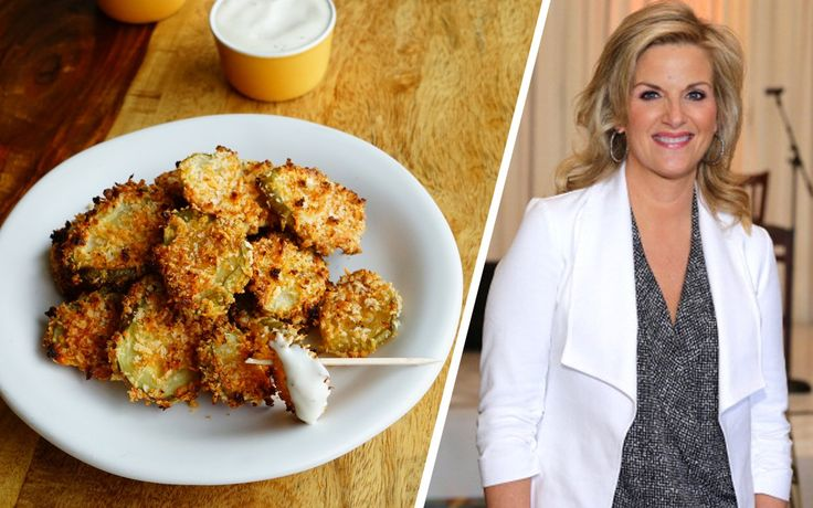 Trisha Yearwood's Unfried Pickles