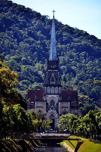 Catedral São Pedro de Alcantara,  Petrópolis, Rio de Janeiro, Brazil