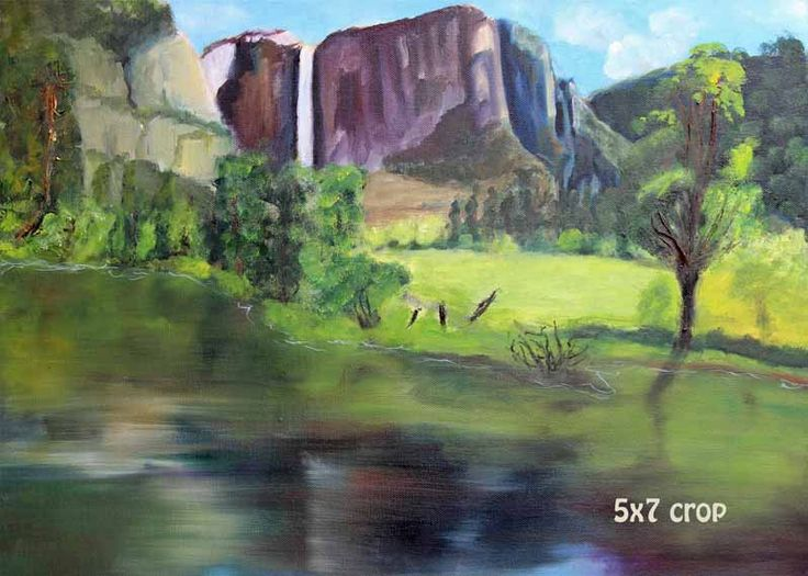 Yosemite,Landscape Painting,Landscape Art,Original, Oil on Canvas,Mountain Painting,Giclee Prints,Prints for Sale, Carol Lytle,Fine Art by Lytlebitartisitic on Etsy