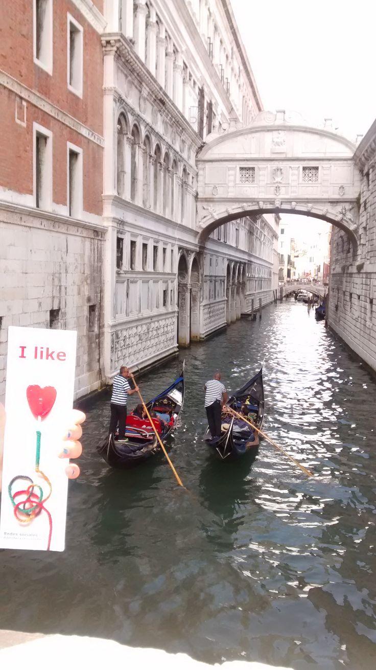 Desde Venecia, Puente de los Suspiros. Agosto 2016.