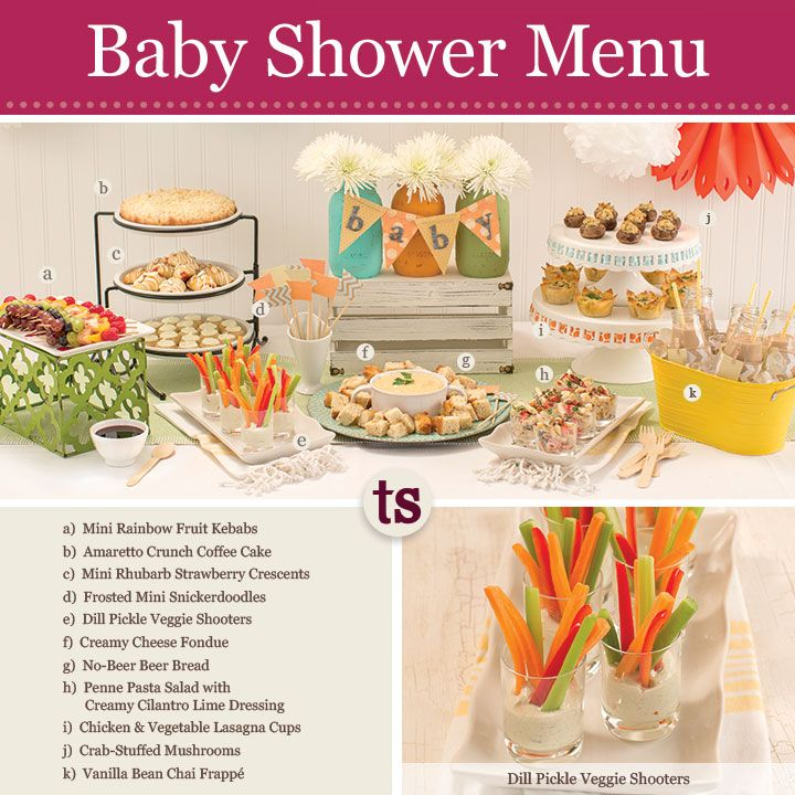 Menus For Baby Showers ~ Best baby shower menu pictures to pin on pinterest daddy