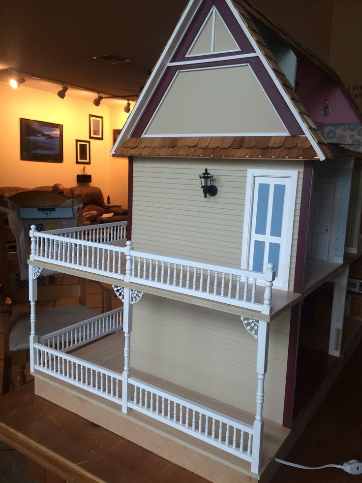 Pin By Becky C On My Victorias Farmhouse Dollhouse Build