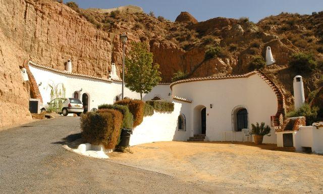 Cuevas Pedro Antonio De Alarcon Near Granada Cave Hotel Travel Spain Pinterest And
