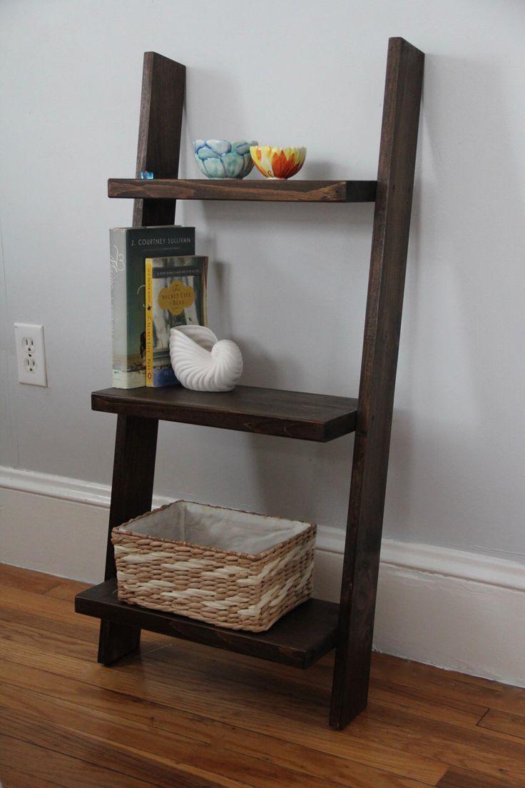 Best 25 Leaning Ladder Shelf Ideas On Pinterest