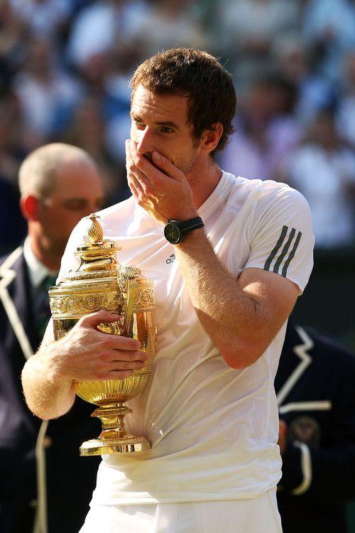 Andy Murray, finally champion! #wimbledon #tennis