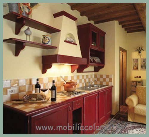 Armadi dipinti a mano og72 regardsdefemmes for Cucina italiana mobili