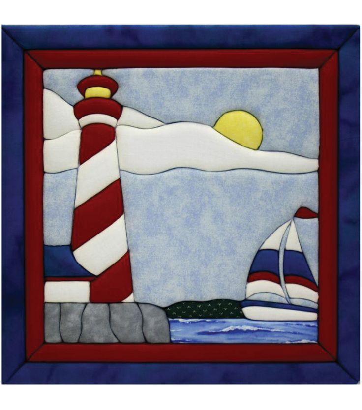 "Lighthouse Quilt Magic Kit-12""X12"", , hi-res"