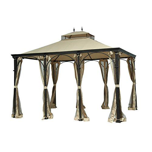Garden Winds Replacement Canopy for Higgins Gazebo RipLock 350 *** To view further for this item, visit the image link.
