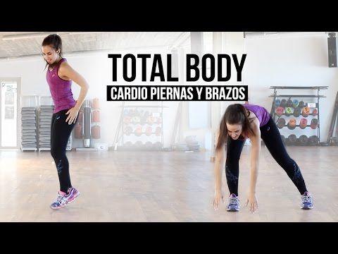 Ejercicios para brazos y piernas | Total body - YouTube