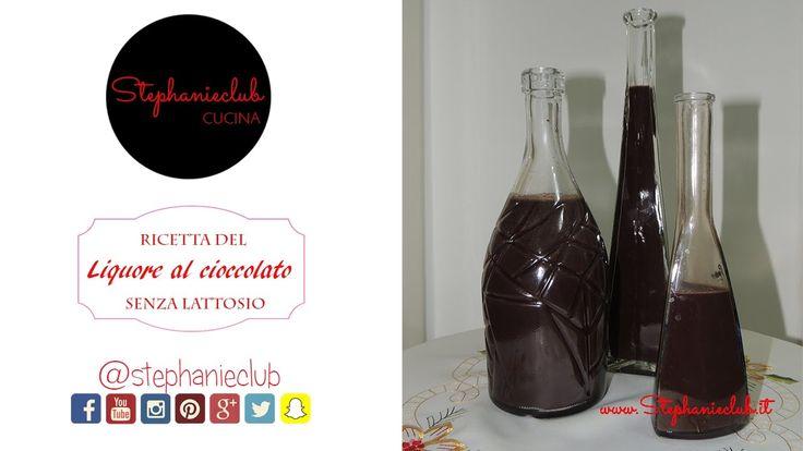 Liquore al cioccolato senza lattosio | ricetta di Natale | stephanieclub
