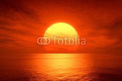 red sunset ©magann