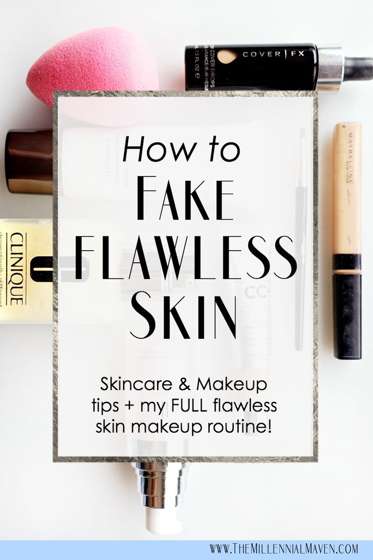 Fake Perfect Skin with this Flawless Skin Makeup Routine, flawless makeup
