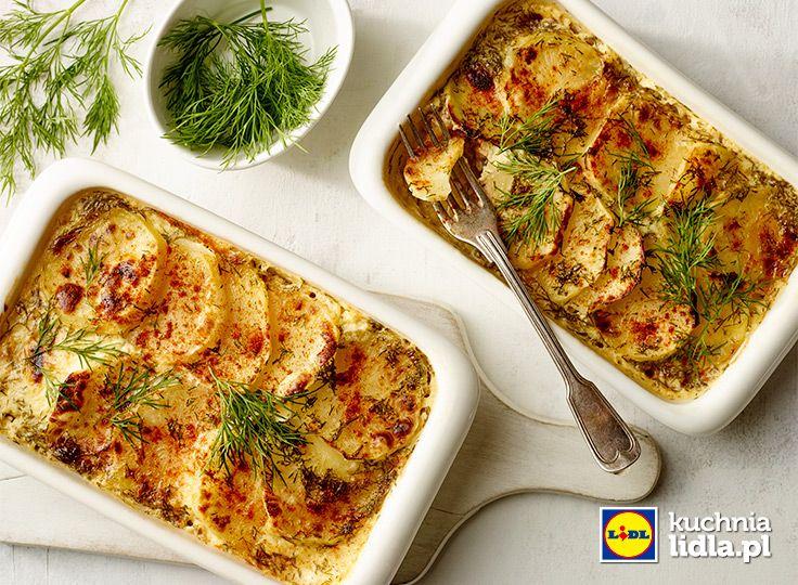 Cassolette z łososiem i ziemniakami. Kuchnia Lidla - Lidl Polska  #losos
