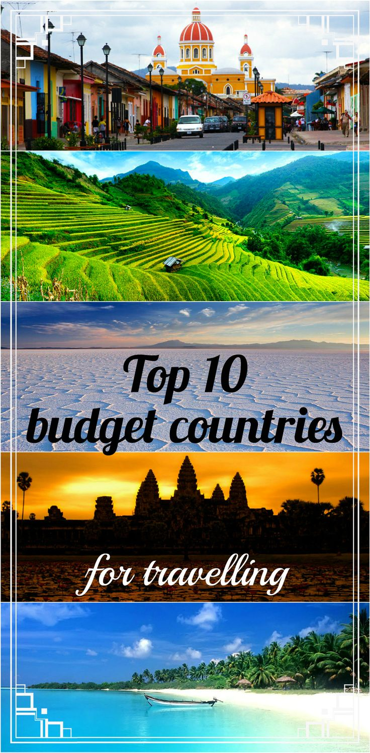 List of top 10 cheapest countries to travel  including complete budget, accommodation, food, transport and activities prices. All the info from our own travel experience!