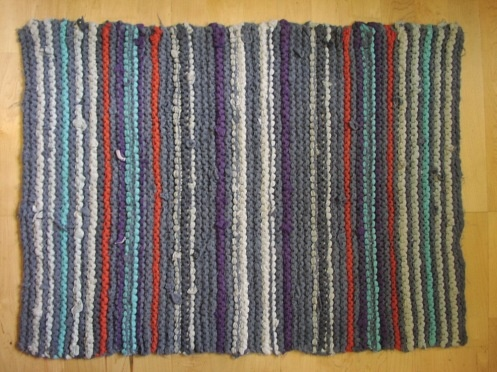 99 Best Knotted Rag Rugs Images On Pinterest Rug Making