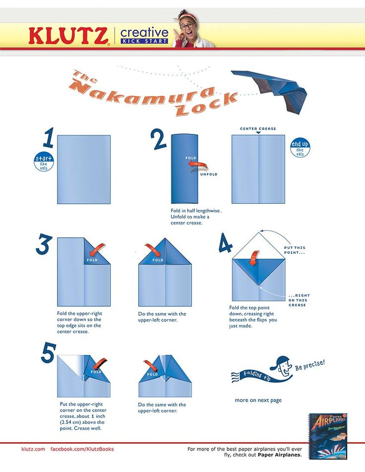 How To Make A Paper Airplane Do Tricks