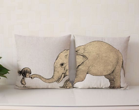 Animal Pillow Relaxation : 17 Best images about I Love The World on Pinterest Elephant pillow, Gray and Travel