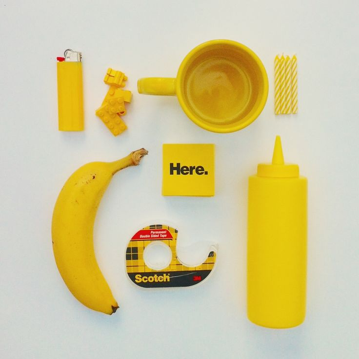 SUBMISSION:  Yellow Objects by David Schwen.