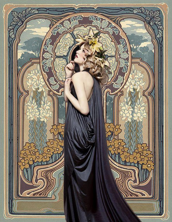 265 best Art Nouveau images on Pinterest | Art nouveau ...