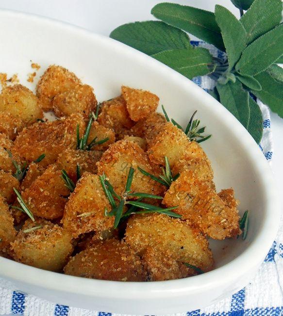 Patate al forno gratinate | Un mondo di ricette semplici