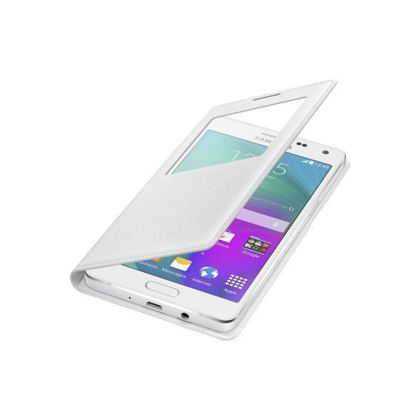 Samsung S view cover pour Galaxy A5 Blanc - Vente et achat en ligne des tablettes smartphones téléphones et accessoires au Maroc.