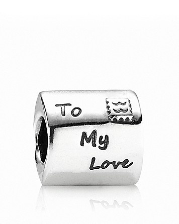 PANDORA Charm - Sterling Silver & Red Enamel Love Letter **** bakar should get me this! i mean we have only wrote a million letters 2 each other lol <3