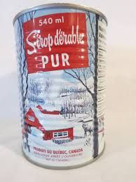 My friend brings me this delicious syrup from Quebec every summer.