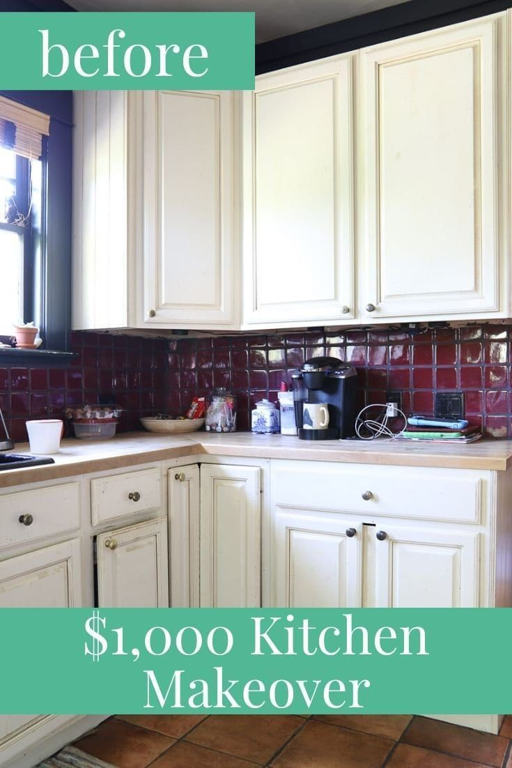 Budget Friendly Kitchen Makeover Under 1 000 Reveal Kaleidoscope Living In 2020 Kitchen Makeover Kitchen Decor Inspiration Kitchen Diy Makeover