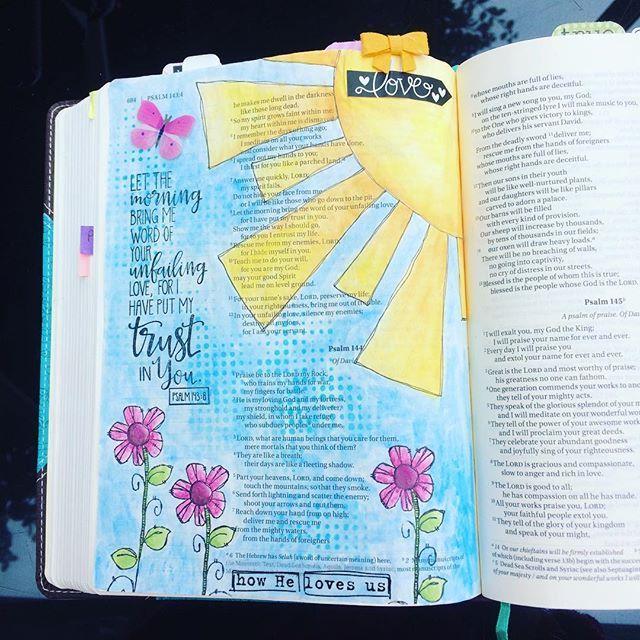 Psalm 143:8 / devlinwhite