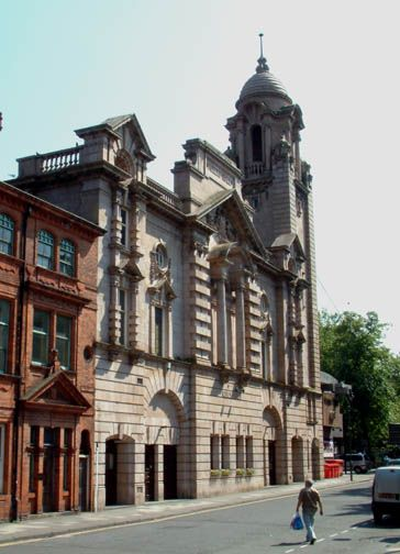 Albert Hall, Nottingham. 1907-9 A E Lambert. Replacing Watson Fothergill's original