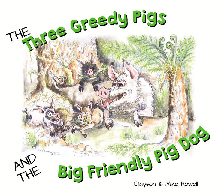 Written by a DOC worker in NZ! Great fun book for young & old pig hunters!!!