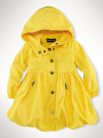 little girl raincoat - too cute