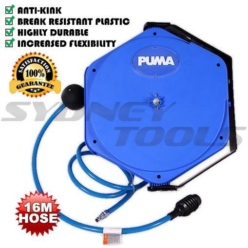 Puma PUMA1216LA 16M Retractable Air Hose Reel