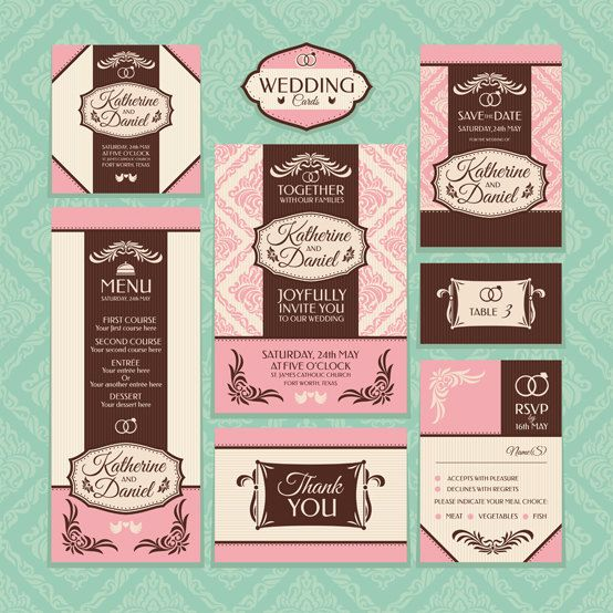 Wedding Invitation Set  https://www.etsy.com/listing/162299400/wedding-invitation-set?ref=shop_home_active