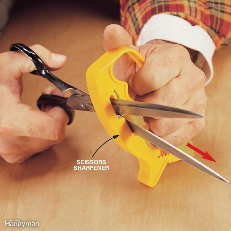 Sharpen Your Scissors - Sharpening scissors with a sharpening stone is…