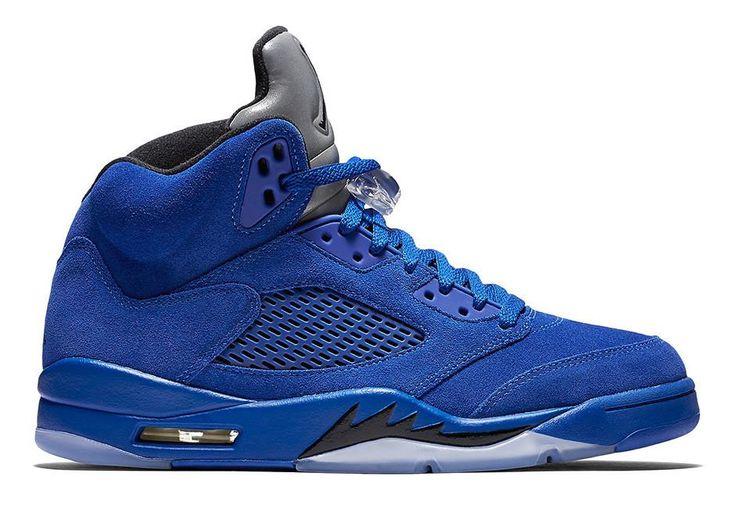 "My Sneaker Palace Nike Air Jordan Retro 5 ""Blue Suede"""