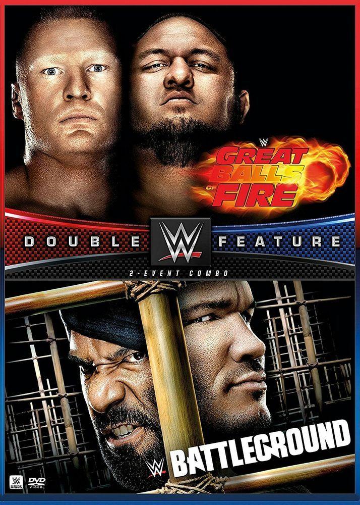 WWE: Great Balls of Fire 2017/WWE: Battleground 2017 (DVD, 2017) | DVDs...