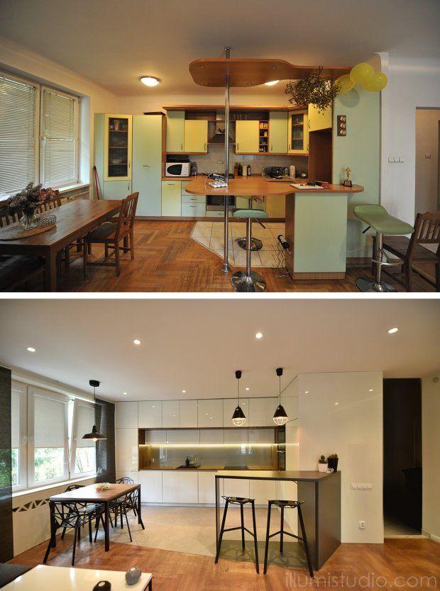 Metamorfoza kuchni w starym bloku