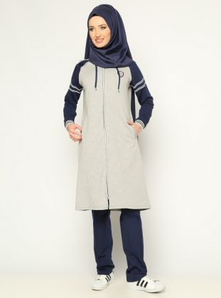 Tracksuit Taki Do - Navy Blue - Elif Okur