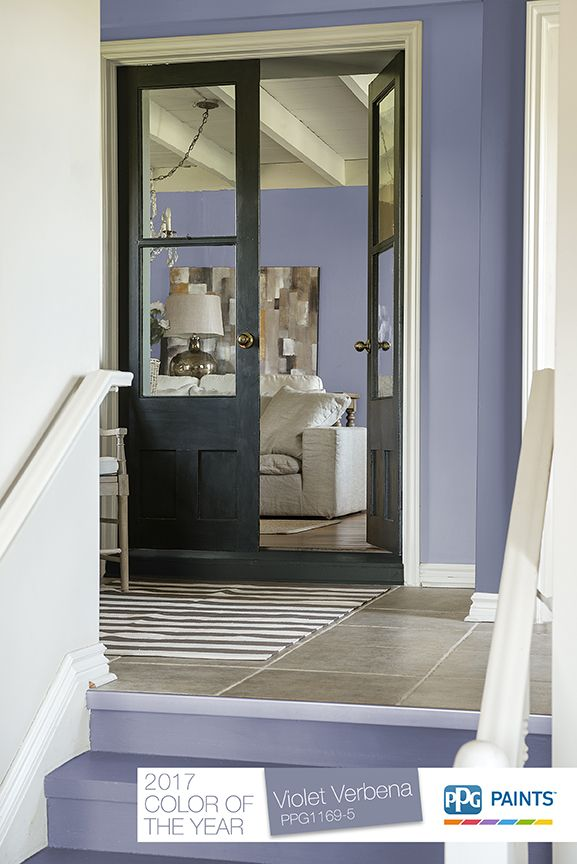 15 best 2017 paint color of the year violet verbena - Trending exterior house colors 2017 ...