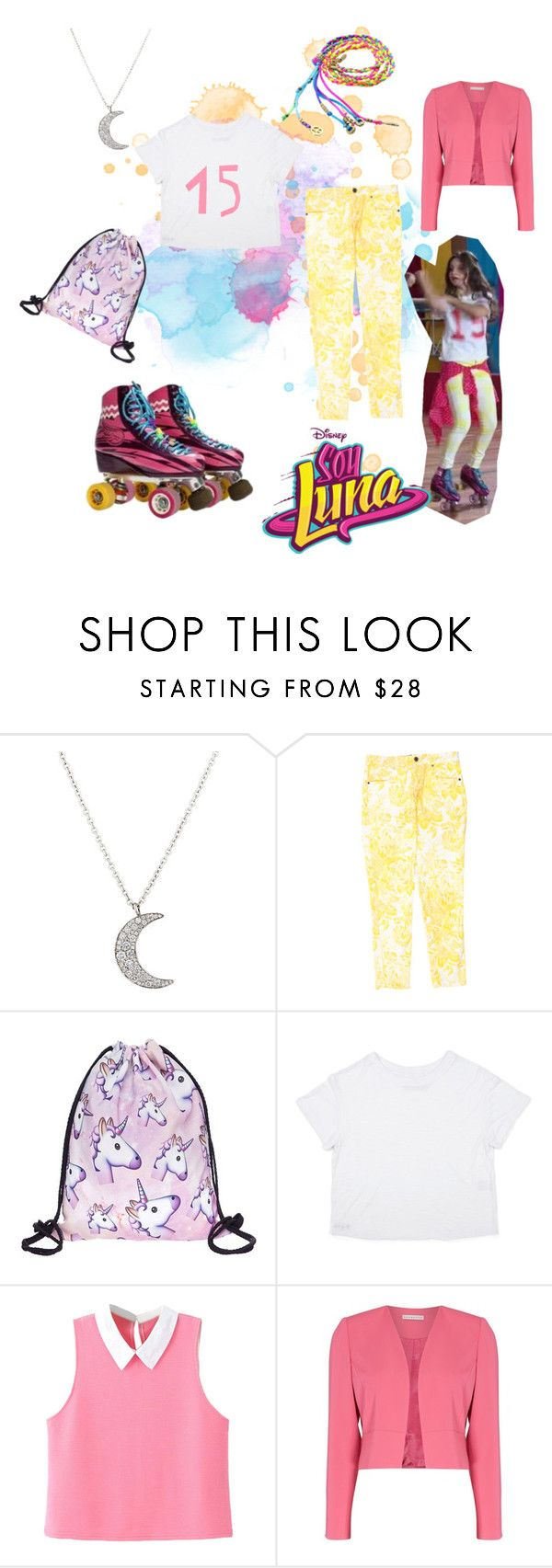 """""""soy luna"""" by maria-look on Polyvore featuring Finn, STELLA McCARTNEY, WithChic and Shubette"""