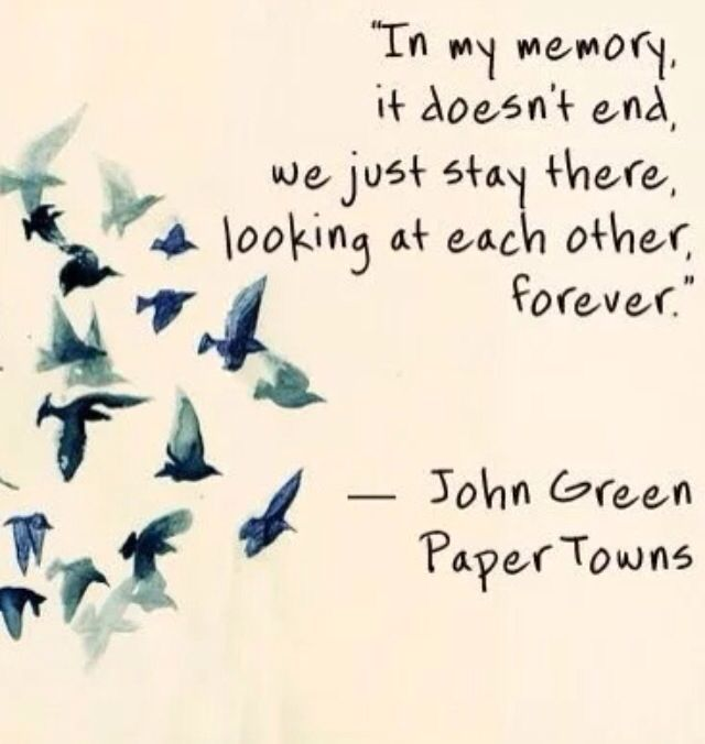 Not simple, Paper towns john green nice