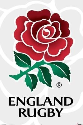 England Rugby Poster - RFU Crest