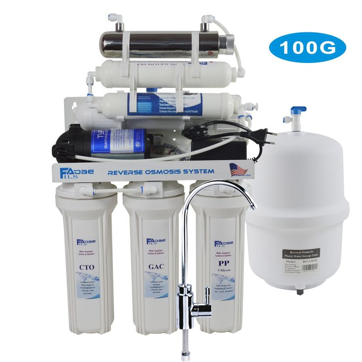 7stage undersink reverse osmosis drinking water
